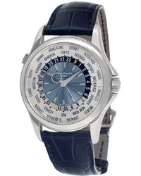 Patek Philippe World Time Horloge - Blauw
