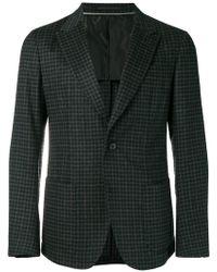 Z Zegna - Checked Woolen Blazer - Lyst