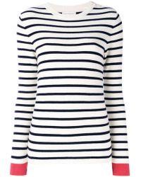 Chinti & Parker - Striped Top - Lyst