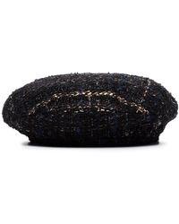 Maison Michel - Abby ツイード ベレー帽 - Lyst