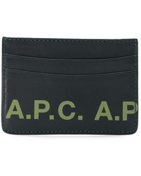 A.P.C. カードケース - マルチカラー