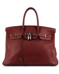 Hermès - Сумка-тоут Birkin 35 Pre-owned - Lyst
