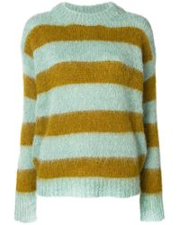Erika Cavallini Semi Couture - Striped Jumper - Lyst