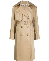 Junya Watanabe Belted Trench Coat - Natural