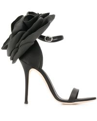 Giuseppe Zanotti Peony Heels - Black