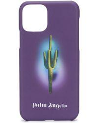 Palm Angels Iphone 11 Pro Hoesje Met Print - Zwart