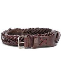 Golden Goose Deluxe Brand - Classic Woven Belt - Lyst
