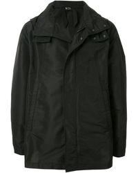 N°21 ロゴ コート - ブラック