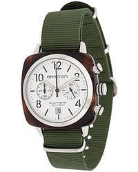 Briston Clubmaster Watch - Green