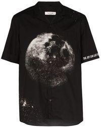 Valentino - Moon ロゴ シャツ - Lyst