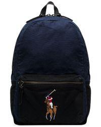 Polo Ralph Lauren Canvas Backpack - Blue