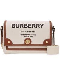 Burberry - Сумка Через Плечо С Принтом Note Horseferry - Lyst