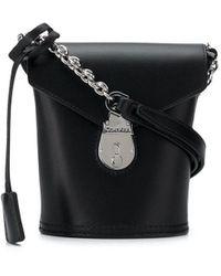Calvin Klein Mini Bucket Bag - Black