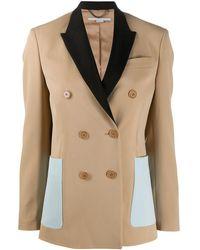 Stella McCartney Button-front Blazer - Multicolor