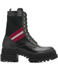 Bally Ботинки Giois В Стиле Милитари - Черный