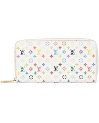 Louis Vuitton Portefeuille Zippy - Blanc