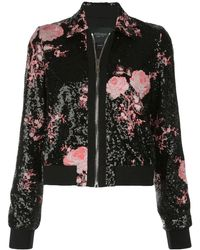Giambattista Valli - Floral Embroidered Sequined Jacket - Lyst