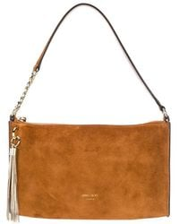 Jimmy Choo Mini Callie Hobo Bag - Brown