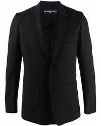 Raf Simons シングルジャケット - ブラック