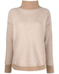 Blumarine - ストライプ セーター - Lyst