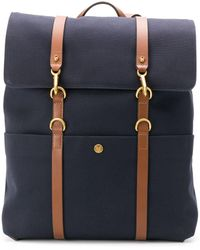 Mismo Ms Foldover Backpack - Blue