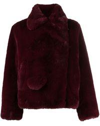 Zadig & Voltaire Freeze Faux-fur Jacket - Multicolour