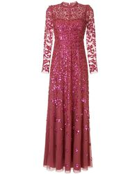 Needle & Thread Robe Rosmund - Rose