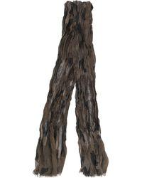 John Varvatos Écharpe à imprimé camouflage - Noir