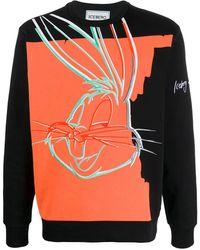 Iceberg Bugs Bunny スウェットシャツ - ブラック