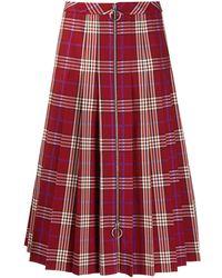 Mulberry - Spencer Tartan Check Skirt - Lyst