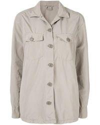 Aspesi - Oversized Single-breasted Jacket - Lyst