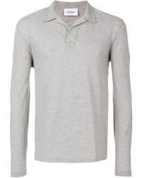 Dondup - Longsleeved Polo Shirt - Lyst