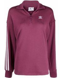 adidas Trefoil-logo Cotton Sweatshirt - レッド