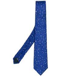 Lanvin - Stars Pattern Classic Tie - Lyst