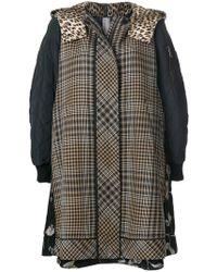 Antonio Marras - Panelled Hooded Jacket - Lyst