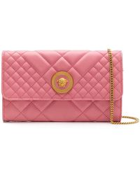 Versace - Quilted Clutch - Lyst