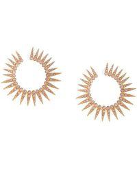 Oscar de la Renta - Spiked Earrings - Lyst