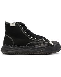 Maison Mihara Yasuhiro Original Sole High-Top-Sneakers - Schwarz