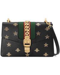 Gucci Маленькая Сумка На Плечо 'sylvie Bee Star' - Многоцветный