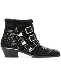 Chloé Susanna Ankle Boots - Zwart