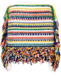 Ports 1961 Fringed Short Skirt - Multicolour