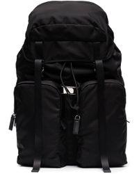 Prada - Zip Pocket Shoulder Bag - Lyst