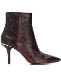 MICHAEL Michael Kors Pointed Ankle Boots - Brown