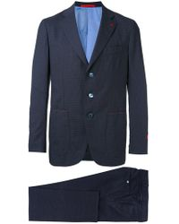 Isaia - Embroidered Two Piece Suit - Lyst