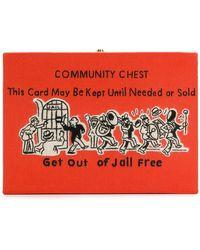 Olympia Le-Tan - Community Chest Clutch Bag - Lyst