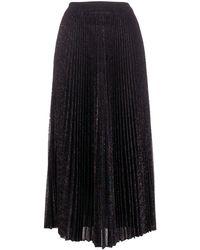 Missoni プリーツ ニット スカート - ブラック
