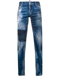DSquared² Vicious Wash Jeans - Blue