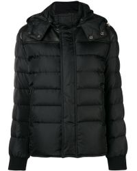 Saint Laurent - Hooded Puffer Jacket - Lyst