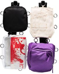 Raf Simons X Eastpak Multi Pocket Backpack - Purple