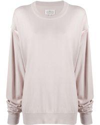 Maison Margiela Cut-out Sweatshirt - Multicolor
